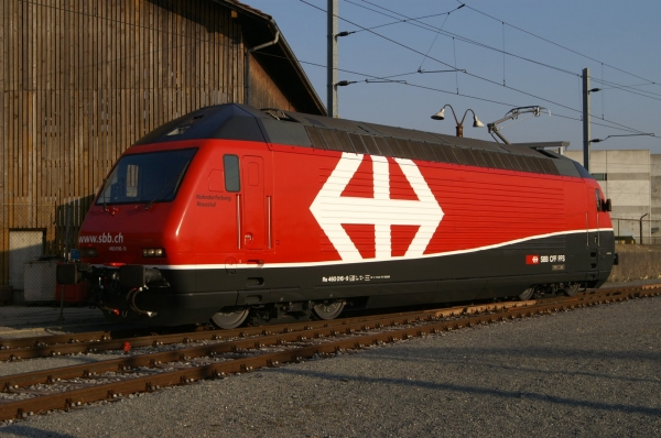 Re 460 016-9 Yverdon